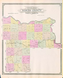 Nd Time Zone Map : Mercer, County,, North, Dakota, Wikipedia