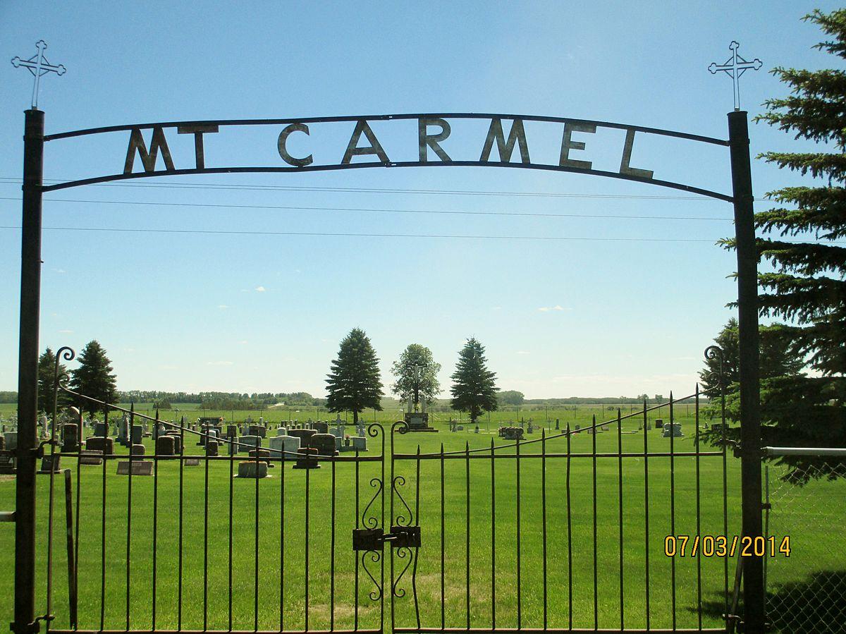 Old Mt Carmel Cemetery WroughtIron Cross Site  Wikipedia