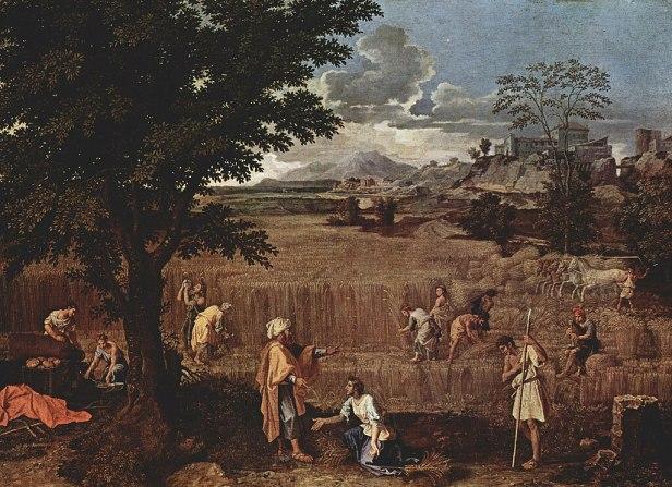 The Four Seasons by Nicolas Poussin