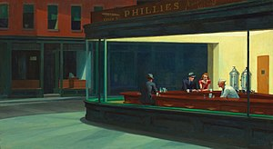 Edward Hopper's Nighthawks, 1942