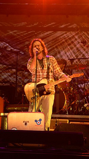 Eddie Vedder of Pearl Jam 2008