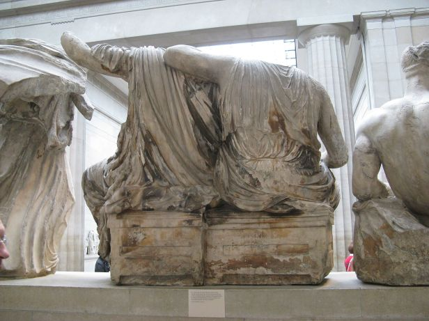 Pediments of the Parthenon-British Museum-5