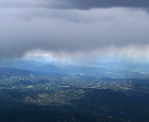 English: The Front Range of the Rocky Mountain...