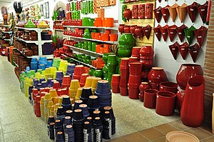 The ceramics industry represents the mainstay ...