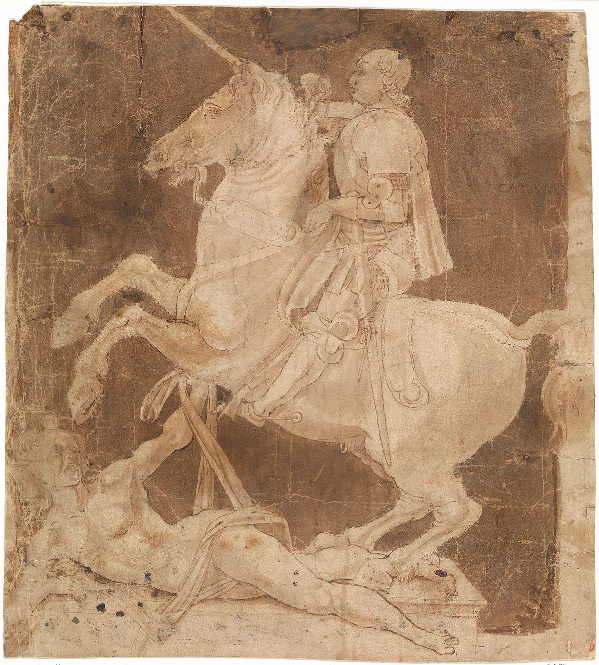 Studio per la statua equestre di Francesco Sforza  Wikipedia