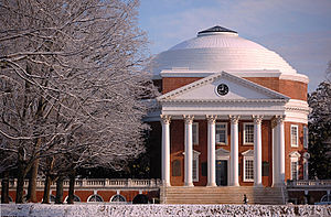Thomas Jefferson's Rotunda at the University o...