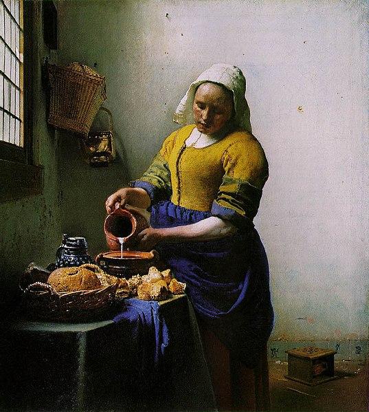 Vermeer van Delft, Milkmaid