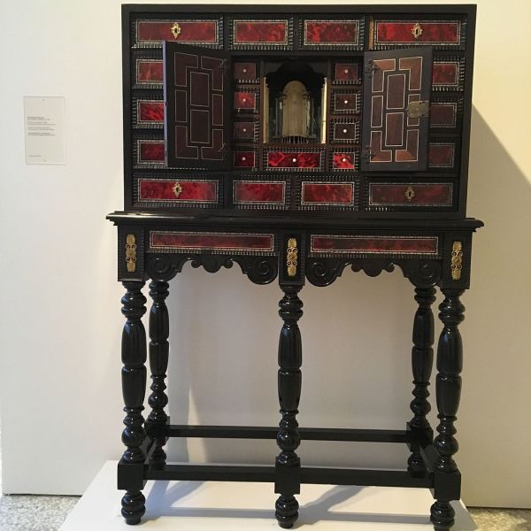 File Wiki Loves Art Belgium In 2016 - Museum Of Fine Arts Ghent Cabinet Curiosity 17th