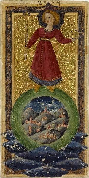 Charles VI (or Gringonneur) Deck; Le tarot dit...