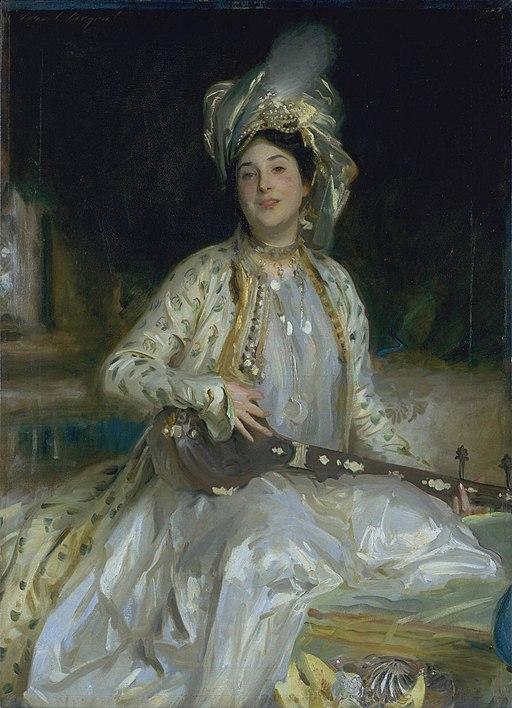 """Portrait of Almina Daughter of Asher Wertheimer"" by John Singer Sargent"