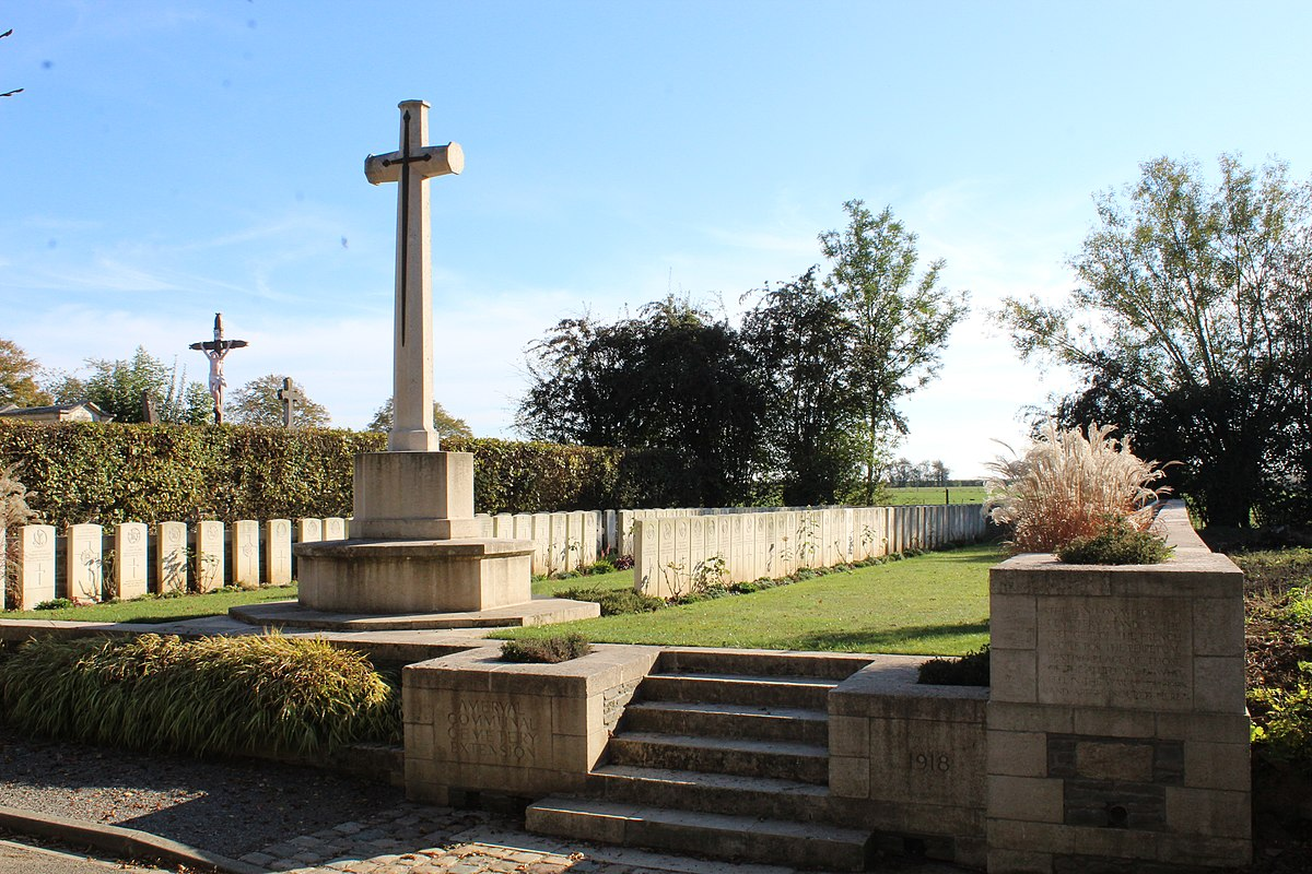 Amerval Communal Cemetery Extension  Wikipdia