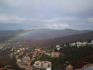 Arcobaleno a Rocca di Papa (RM)
