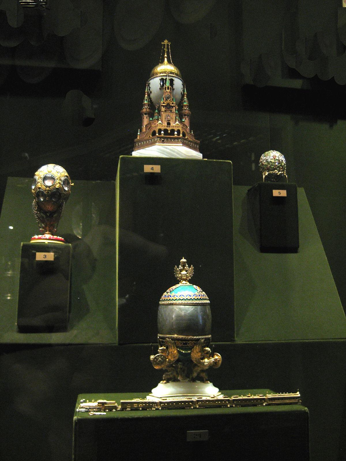 Le Paon L'autruche Et Les Poulets : l'autruche, poulets, Fabergé, Wikipédia