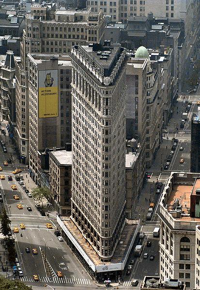FlatIron building in NY