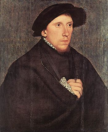 Hans Holbein d. J. - Portrait of Henry Howard,...