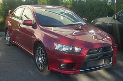Mitsubishi Lancer Evolution X (US)