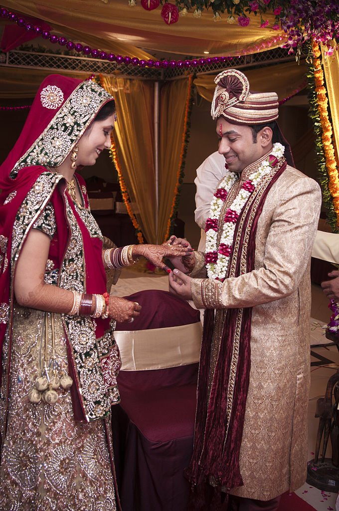 FileRing ceremony Indian Hindu weddingjpg  Wikimedia Commons