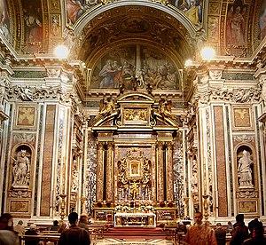 Português: Capela Borghese, Santa Maria Maggio...