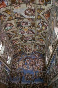 Taket i det sixtinske kapell  Wikipedia