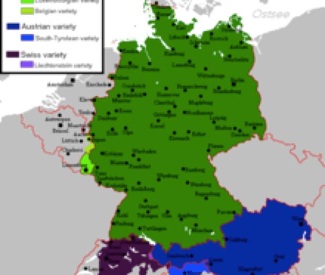 Varieties Of Standard Germanedit