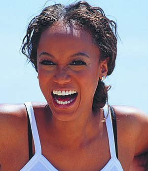 Tyra Banks at the 2000 Cannes Film Festival.