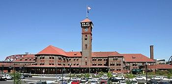 English: Union Station in Portland, Oregon, US...