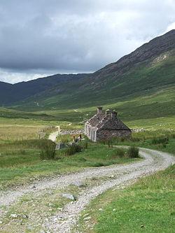 Der West Highland Way südlich von Fort William