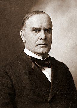 William McKinley by Courtney Art Studio, 1896