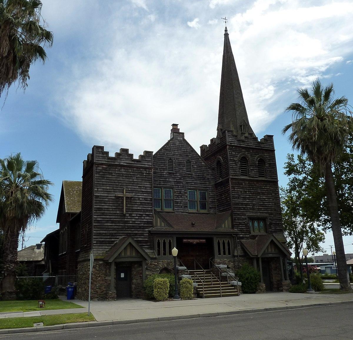 First Congregational Church (Porterville California ...