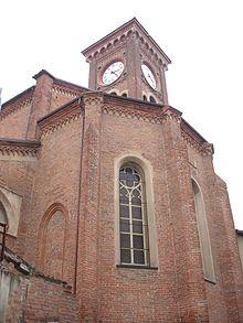 Chiesa di Santa Maria di Castello Alessandria  Wikipedia