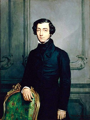 Alexis de Tocqueville, French political thinke...