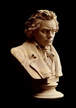 English: Photograph of bust statue of Ludwig v...