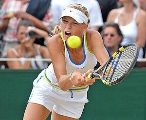 Caroline Wozniacki at the 2006 Wimbledon girls...