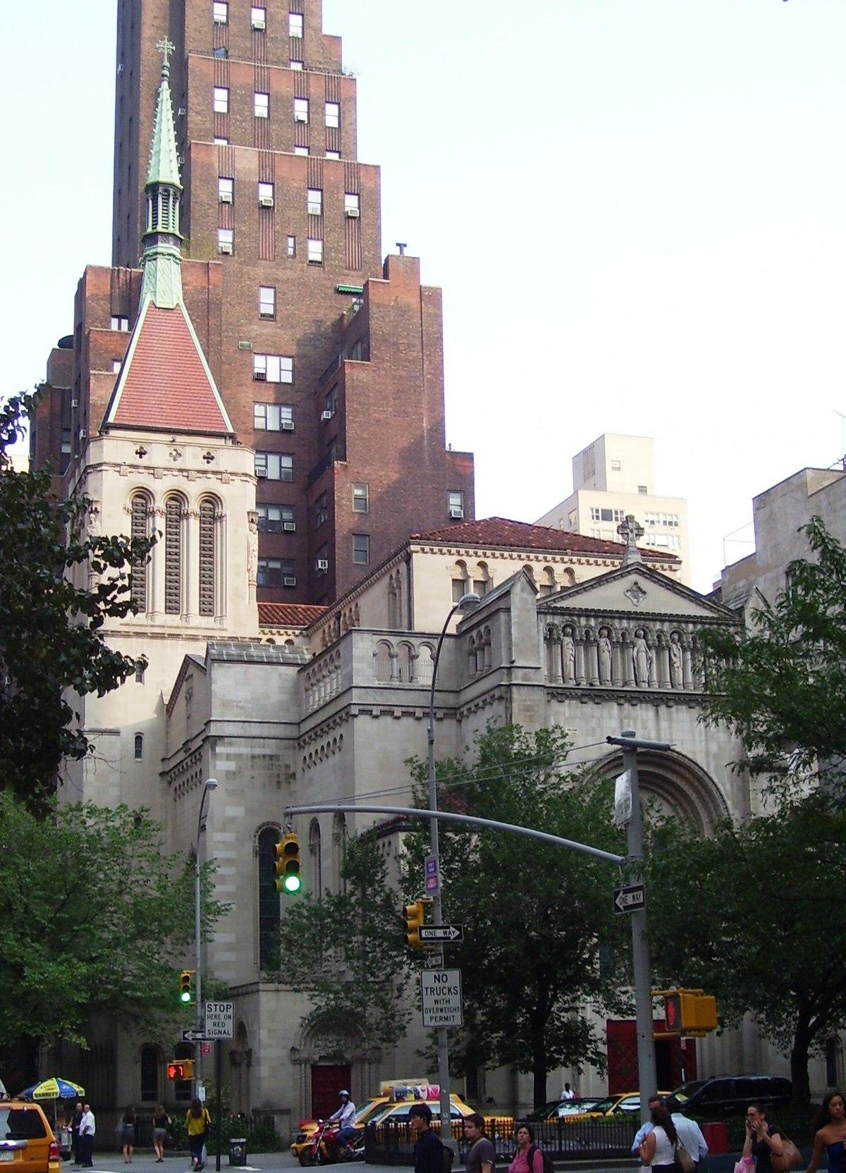 Our Saviour Roman Catholic Church Manhattan Wikipedia