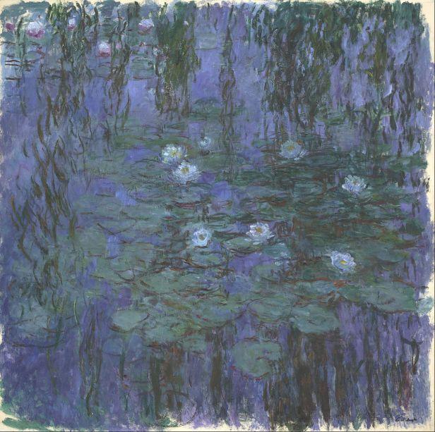 Claude Monet - Blue Water Lilies