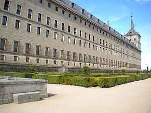 English: El Escorial Spain Gardens