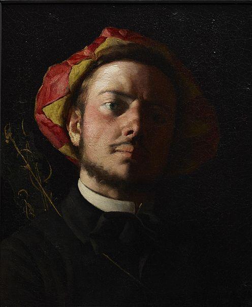File:Frédéric Bazille - Portrait de Paul Verlaine comme une Troubadour.jpg