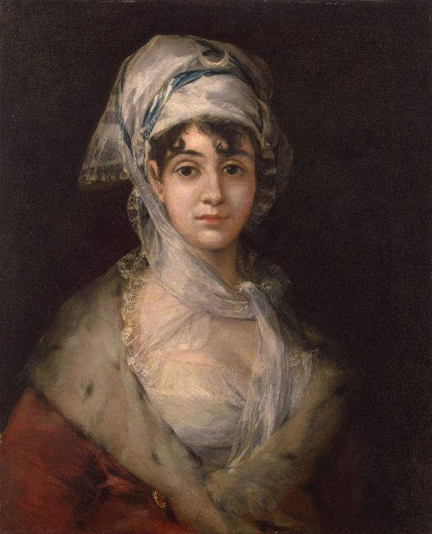 Francisco-Goya - Portrait-of-the-Actress-Antonia-Zarate