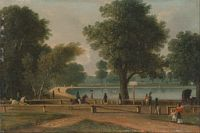 George Sidney Shepherd - The Serpentine, Hyde Park - Google Art Project