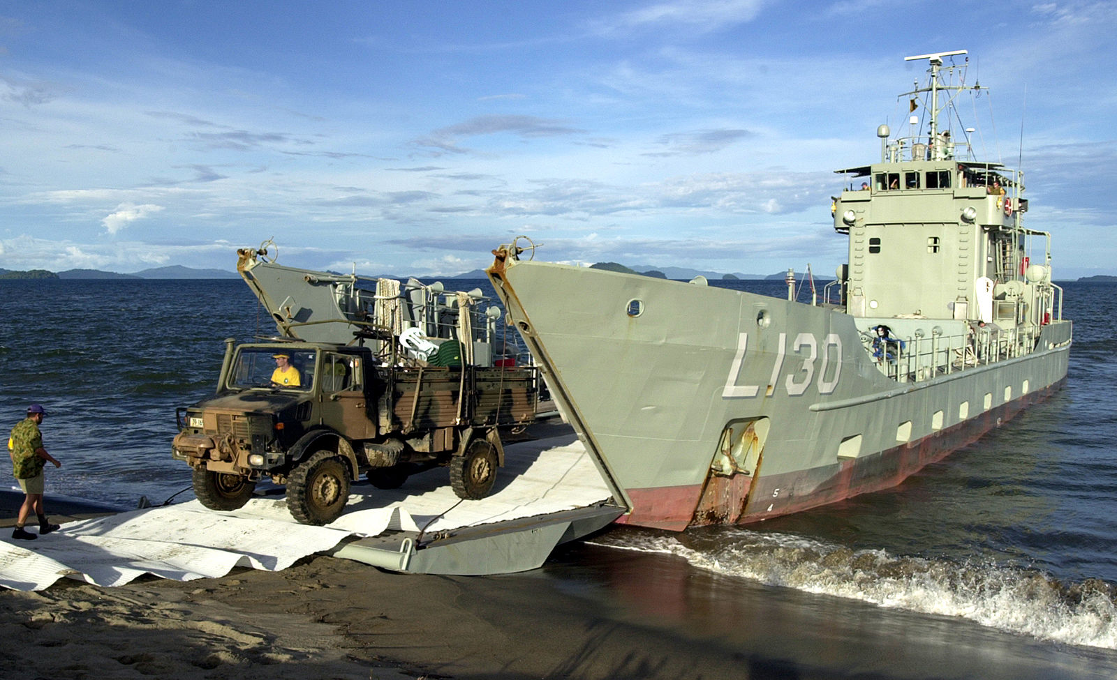 Naval Open Source INTelligence: HMAS Wewak decommissioned