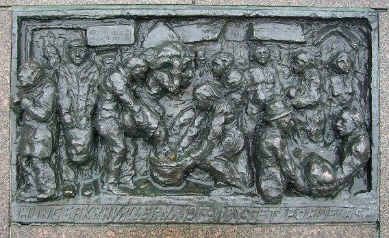 Minnesmärke över Hungerupploppen i Göteborg år 1917