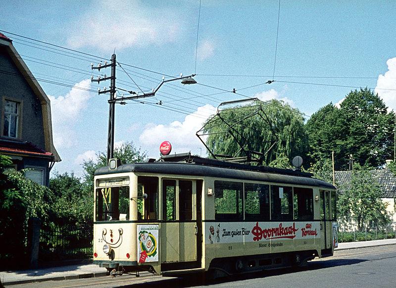 Kleefse tram rond 1960.