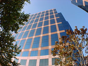 Downtown Orange County CA, Office Buildings ne...