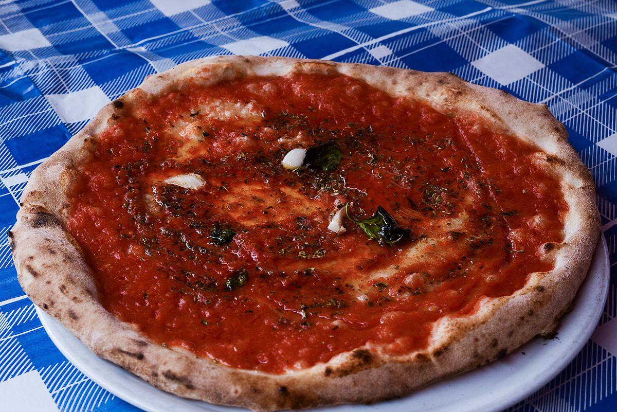 Condimenti tradizionali della pizza  Wikipedia
