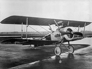 English: Royal Flying Corps Sopwith Camel in 1...