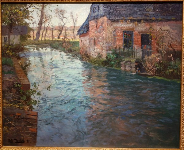 Museum of Arts in Oil Painting On Canvas