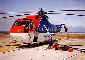 I took this photo of a Canadian Helicopters Si...