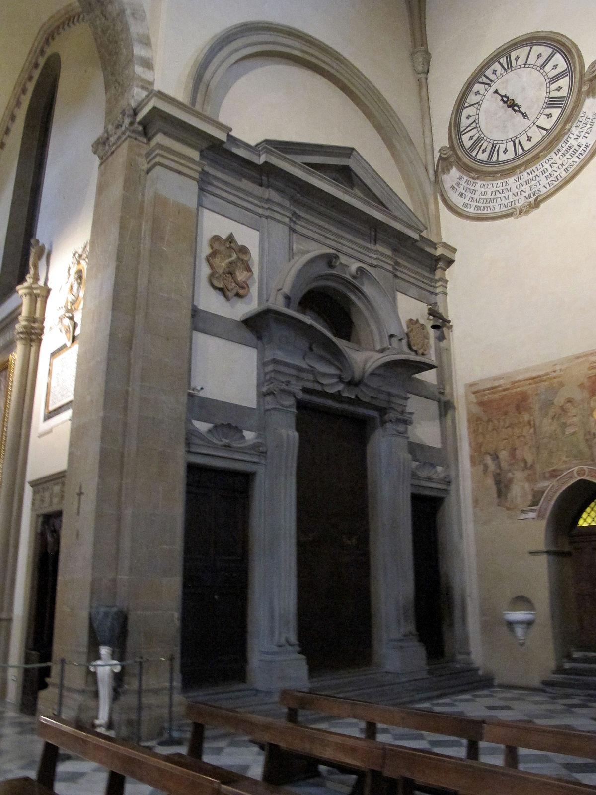 Sagrestia di Santa Maria Novella  Wikipedia