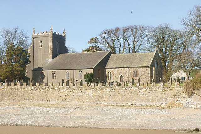 St Cuthbert's Church, Aldingham, Cumbria, England