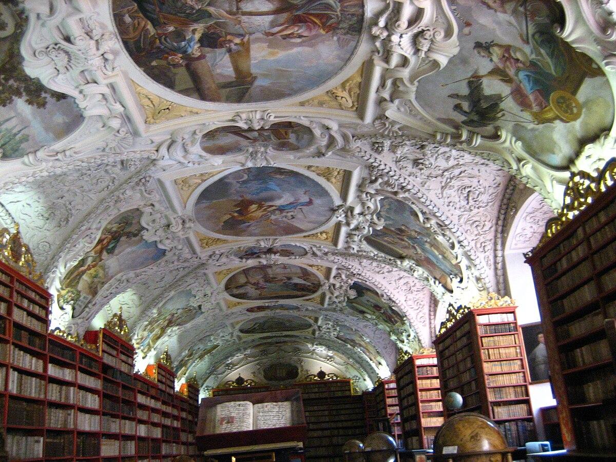 File:Strahov Monastery Library.jpg - Wikimedia Commons
